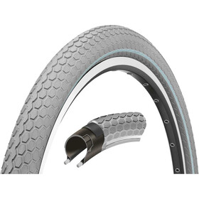 "Continental Ride Cruiser Clincher Tyre 28"" E-25, grey"